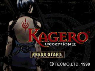 Screenshot Thumbnail / Media File 1 for Kagero - Deception II [U]